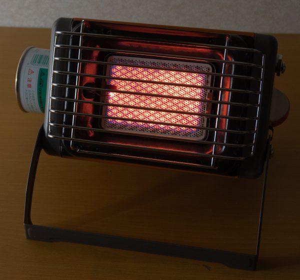 燃焼中写真